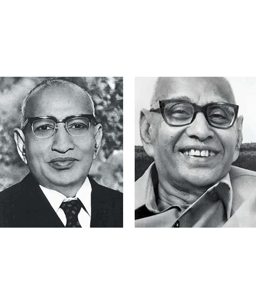 Shanti Prasad and Shriyans Prasad Jain