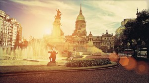 buenos-aires-national-congress-building-on-a-sunset_Nirvana Travel