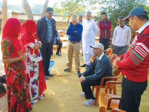 8 --- Interaction with Self Help Group Women