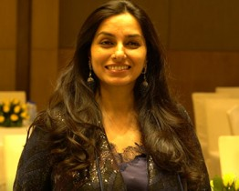 Ambreen Khan in Delhi for book launch of 'Tribute to Titans'