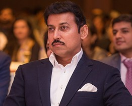 Rajyavardhan Singh Rathore in Delhi for book launch of Tribute To Titans