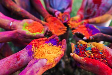 The Vibrant Zest of Holi